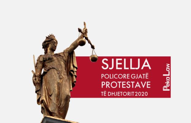 Sjellja policore gjatë protestave të Dhjetorit 2020