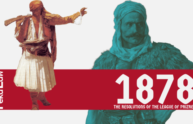 1878: The Resolutions of the League of Prizren