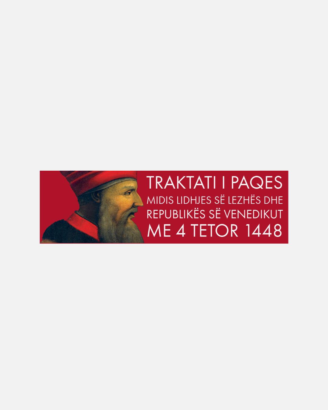 Traktati i Paqes midis Lidhjes së Lezhës dhe Republikës së Venedikut me 4 tetor 1448